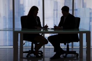 Attorney-client-privilege-private-meeting-illustration