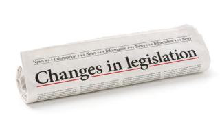 Legislation-changes