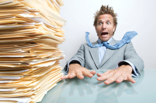Overloaded-with-paperwork